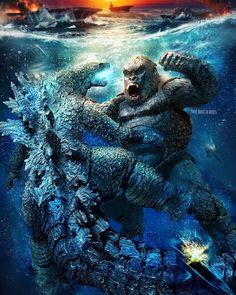 Sh Monsterarts, Godzilla Wallpaper, One Punch Man Manga, Fox Kids, Godzilla Vs, King Of Kings, Fantasy Landscape, King Kong, Legos