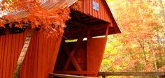 20) Campbell's Covered Bridge of Greenville, SC: This is the last covered bridge in South Carolina.
