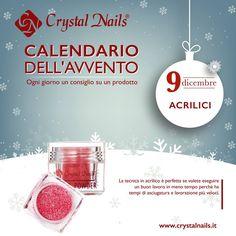 Calendario dell'avvento Crystal Nails - 9 dicembre - #crystalnails #polvereacrilica #acrilici #nails #christmas