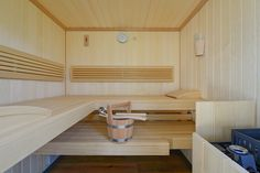 Mobile Sauna im Wechselkoffer / Container Mobiles, Mobile Sauna, Container, Loft, Bed, Furniture, Home Decor, Steam Room, Homes
