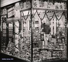 Woolworth Christmas Display