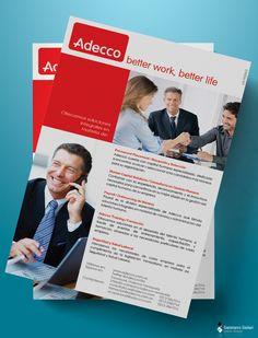 ADECCO - flyers varios