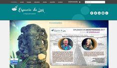 Web del Centro Holístico Espacio de Luz (por Baltacom)