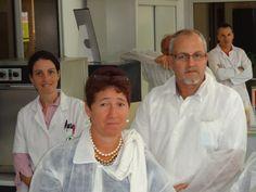 Personnel du labo en compagnie de RAMBOER Catherine & Bernard  (DP Île de la Réunion)