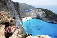 Navagio Beach, Zakynthos, Greece · 10 Places With The Clearest Waters In The World