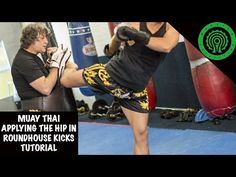 Muay Thai: Applying the hip in the roundhouse tutorial. I would strongly recommend this tutorial. I actually had a light bulb moment watching it. A MUST for any beginner.