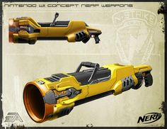 SG Nerf: Nintendo Wii Nerf Concept Weapons   ~by Weston Boege