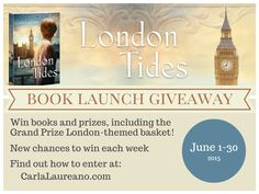 Enter to win books and a London-themed gift basket now through July 15, 2015. http://wp.me/p3pXk4-V2