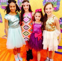 Mackenzie Ziegler made a Public Appearance at the Nickelodeon Kids Choice Awards [2014]