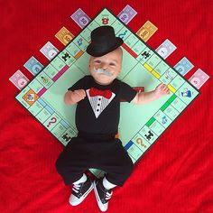 This little Mr. Monopoly is too adorable!