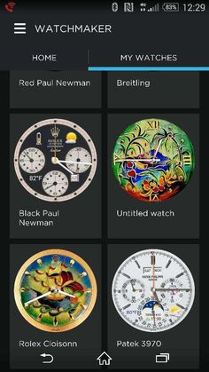 Android Wear Smartwatch Dial Designs Explode With Creativity & Variety | aBlogtoWatch