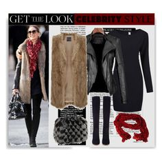 """Get the Look: Winter Edition"" by elena-indolfi ❤ liked on Polyvore featuring Gianvito Rossi, women's clothing, women's fashion, women, female, woman, misses, juniors, GetTheLook and OliviaPalermo"