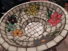 Paila revestida en mosaico veneciano - Macetas - Casa - 803266