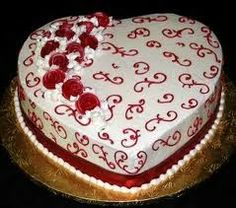 81 Best Valentine Day Cakes Images On Pinterest Valentines Day
