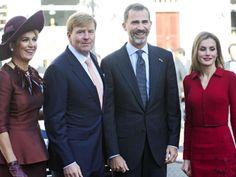 Woensdag 15-10-2014 Spaanse royals op bezoek... De Spaanse koning Felipe en zijn vrouw Letizia maken een rondgang door Europa om andere royals te ontmoeten