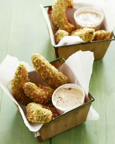 Avocado Fries with Chipotle Dipping Sauce