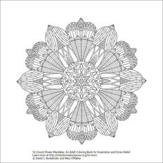 Pin By Ann M On Mandalas To Color Over Whelm You