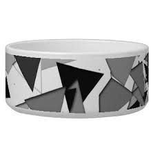 the design on my 2nd bowl is going to be black white and grey and have triangles.