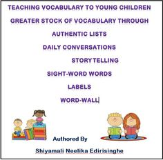 """This pin is self-authored to share with teachers giving an idea how vocabulary can be best taught in an authentic environment; resulting in children acquiring and using the vocabulary in their day to day play and activities offered with supportive instructions. 'Indirect instructions' refers to the vocabulary learning that occurs through other activities within the classroom or centre and not through focused, explicit vocabulary instructions"""" (Fellowes & Oakley, 2014, p. 253)."""