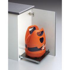 Plataforma para bombona de butano extraible para muebles  cocinas  herrajes  Merendero 2dbe6223a23f