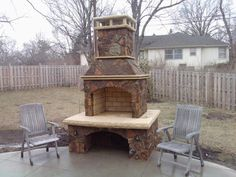Outdoor Stone Fireplaces | Outdoor Fireplace