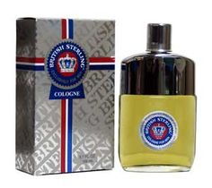 british stering cologne......with your initials engraved