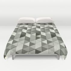 FREE Worldwide Shipping + $10 Off New Duvet Covers Promo Link (valid until August 10 2014): http://society6.com/PLdesign?promo=cba446  Modern Geometric fun Grayscale Black and White triangle galore pattern Duvet cover by ‪#‎PLdesign‬ ‪#‎geometric‬ ‪#‎bwTriangles‬