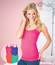 Women's Sets of 4 Seamless Camisoles