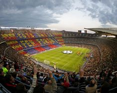 Attend a futbol game in Barcelona. Camp Nou is the largest stadium in Europe, seating almost 100,000 people