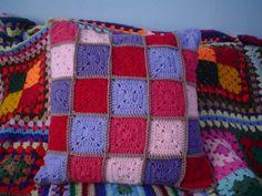 Crochet Cushion.