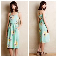Anthropologie Corey Lynn Calter Midi Dress