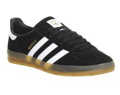 Buy Core Black Adidas Gazelle Indoor from OFFICE.co.uk.