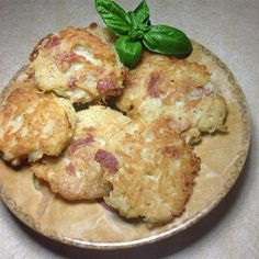 """Polpette di Patate Fritte (Potato and Prosciutto Fritters) I """"""""A simple and tasty dish that kids love and a good alternative to fries. You only need a few ingredients and dinner can be ready in no time at all."""""""