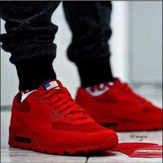 AirMax 90 #Nike #Red