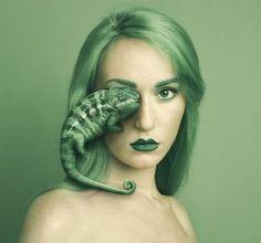 "Saatchi Art Artist Flora Borsi; Photography, ""Chameleon - Limited Edition 1 of 25"" #art"