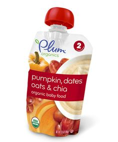 Check out Plum Organics Second Blends Pumpkin Dates Oats & Chia Plum Organics, Sailor Baby, Toddler Meals, Toddler Food, Fruits And Vegetables, Baby Food Recipes, Dating, Pumpkin, Snacks