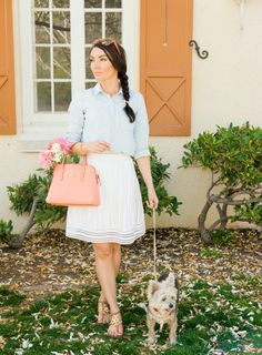 Spring Kate Spade ladylike outfit