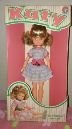 Katy - Boneca antiga da ESTRELA  - anos 70