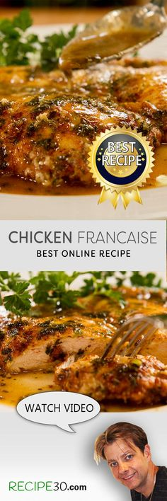 The Best Chicken Francaise Recipe as voted by millions on Facebook.