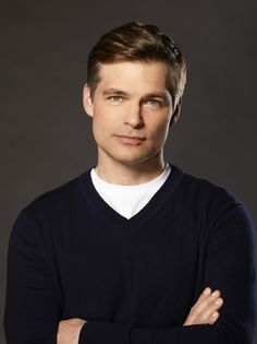 How I picture Pastor Bruce Barnes in the Left Behind series. (Actor Daniel Cosgrove)