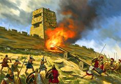 Brasidas' siege of an Athenian fort- by Johnny Shumate