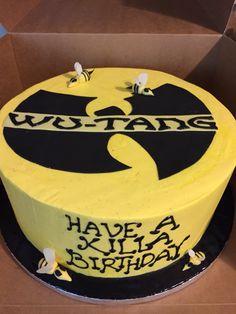 Wu Tang Birthday Cake