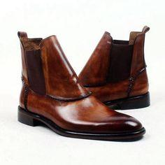 10bc4f1003f Eytan - Deluxe brown Ankle Boots for Men. Calzado HombreModa HombreZapatos  CasualesModa ...