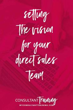 As a leader, one of the awesome privileges is you are driving the bus and choosing where your team is going and ALSO what it's like being on your team–that's the vision and culture. Take a few minutes to really think about where you want to take your team! SEE THE VISION!#directseller #directsales #directsalesteam