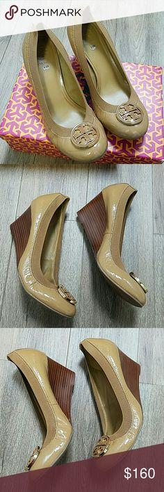 Tory Burch Caroline Wedge. Size 9.5. NWB Tory Burch Caroline Wedge. Size 9.5. NWB Tory Burch Shoes