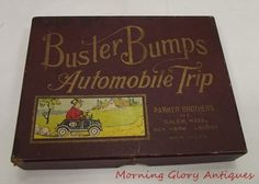 Vintage Buster Bumps Automobile Trip Parker Brothers Game ORG Box | eBay