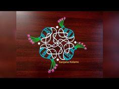 Rangoli Borders, Rangoli Border Designs, Kolam Rangoli, Rangoli Designs, Muggulu Dots, Festival Rangoli, Rangoli With Dots, Pencil Drawings, The Creator