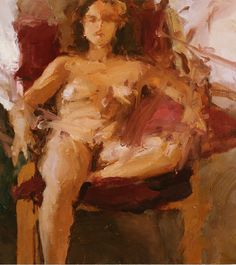 """Woman Sitting"", 2002, oil on linen, 33 x 29"" im., 33.5 x 30.75"" fr."