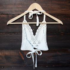boho spring summer coachella outfit crop top knit crochet                                                                                                                                                                                 More