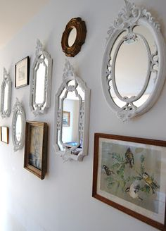Wall collage - Vintage - Mirrors